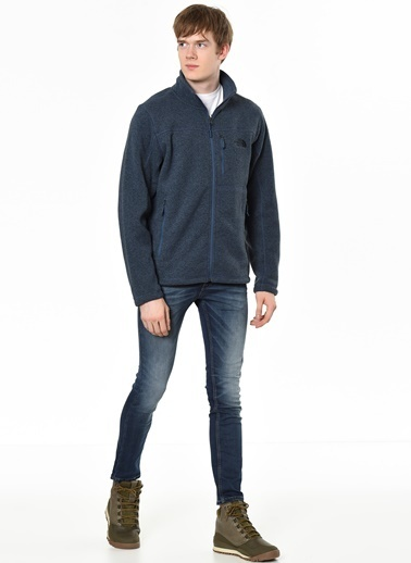 The North Face Polar Sweatshirt Mavi